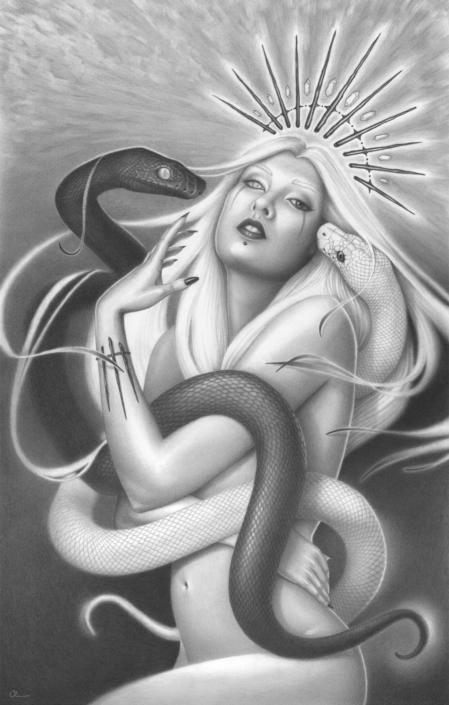 Aeternalis - Original Illustration by Artist Carolina Lebar