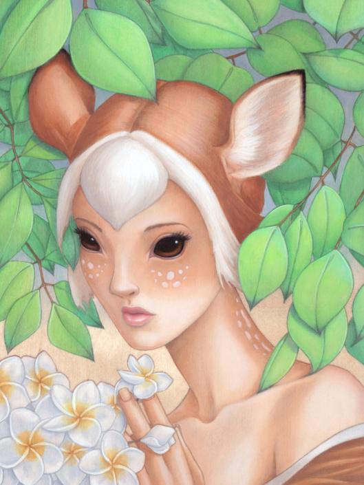 Feon - Original Oil Painting by Artist Carolina Lebar