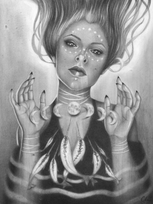 Menily - Original Illustration by Artist Carolina Lebar