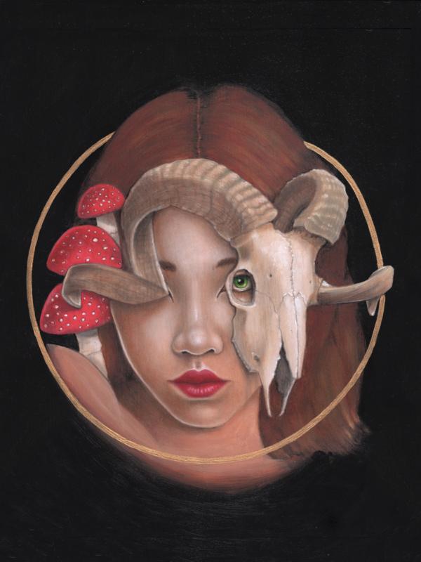 Earth - Original Acrylic Painting by Artist Carolina Lebar