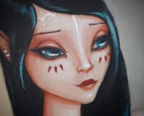 "Close up of ""Bielle"""