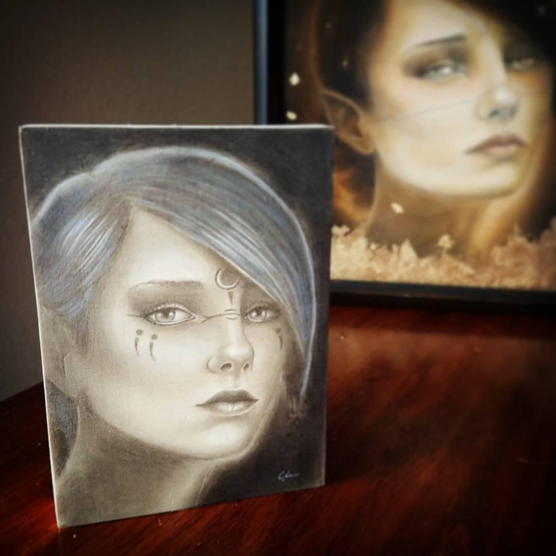 BURN Painting Study