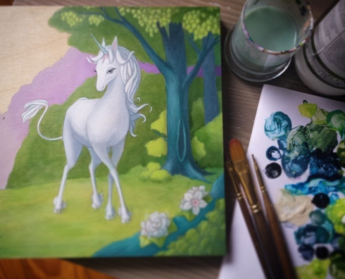 Last Unicorn Commission 1