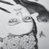 Frida Kalho - Original Illustration by Artist Carolina Lebar