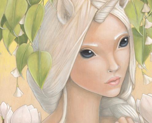 Ooni - Original Acrylic Painting by Artist Carolina Lebar