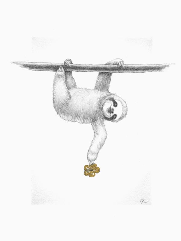 Sloth by Artist Carolina Lebar