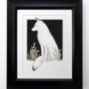 Watchful One Matted and Framed